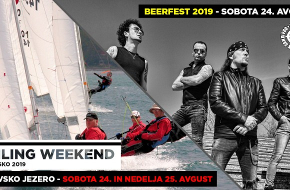 Sailing weekend Kočevsko 2019 in BEERFEST